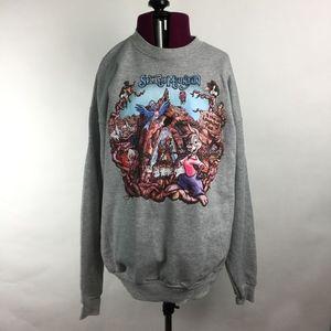 Disney Parks Splash Mountain Sweatshirt in Gray L